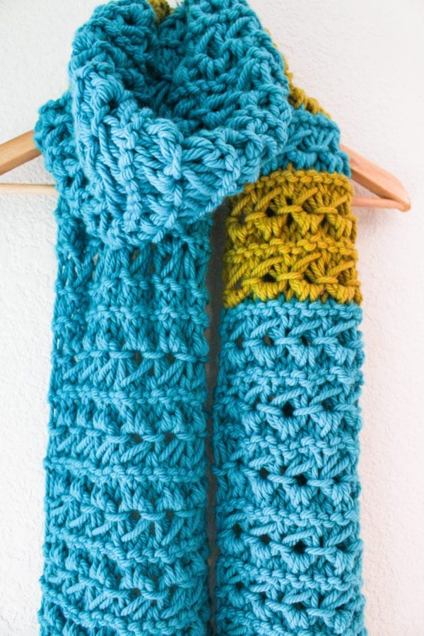 Knitting Patterns Scarf Size 19 Needles : Super Size Your Scarf Knitting with Larger Takumi Circular Needles! Clover ...