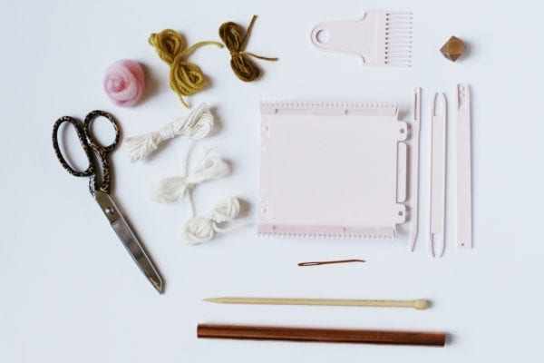 clover mini loom supplies