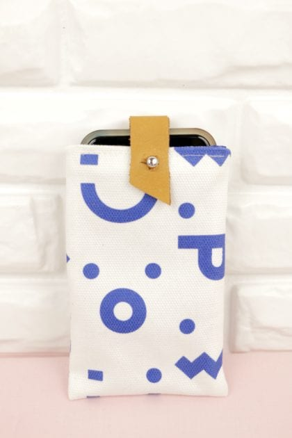 Sewing tutorial: Simple smart phone cover