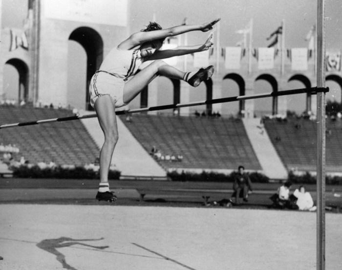 1932 woman high jump olympics