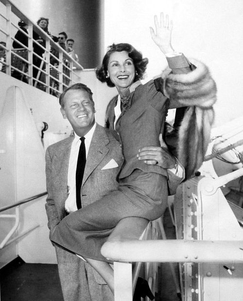 Frances and Joel McCrea