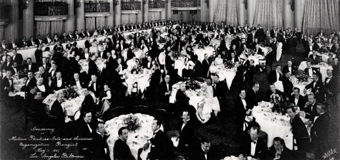 organizing banquet 1927