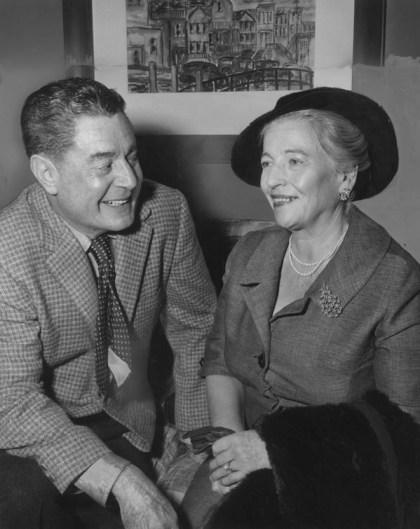 Leo McCarey Pearl S. Buck discuss screenplay Bamboo Curtain 1961