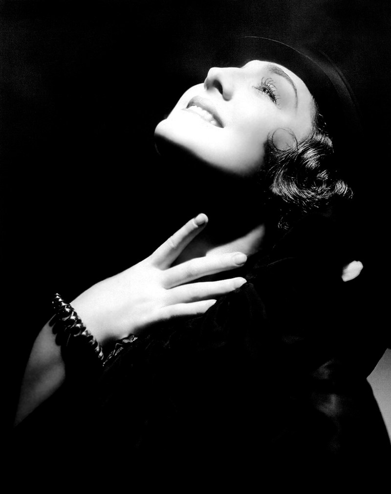 Norma Shearer - by George Hurrell c1935-36