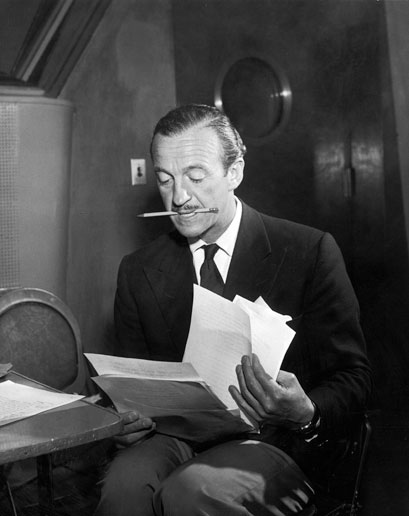 david niven reading and writing