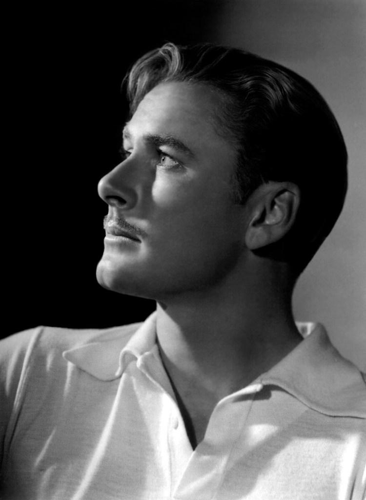 Errol Flynn - by George Hurrell 1938