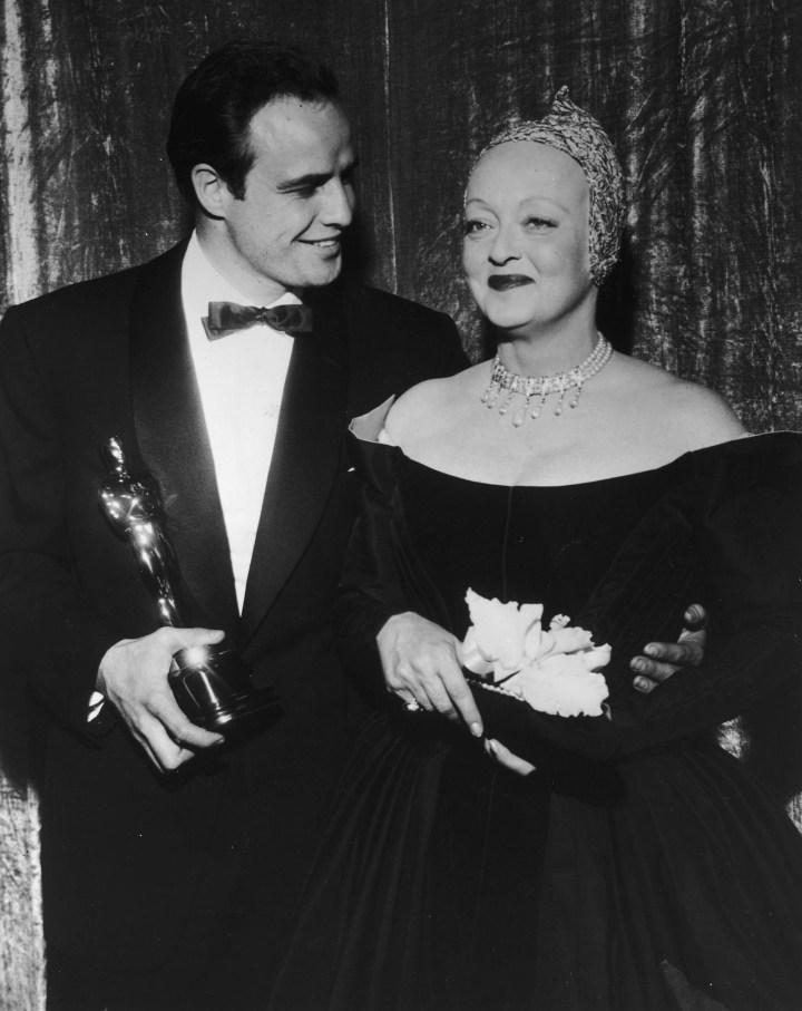 davis and brando 27th academy awards