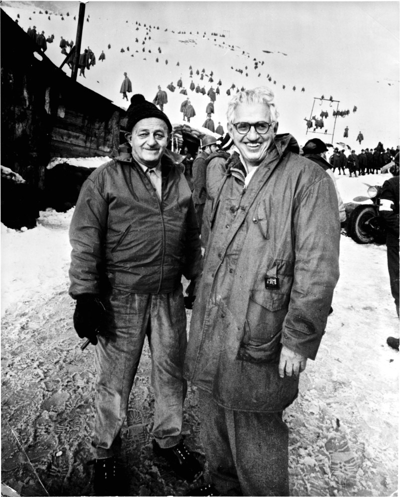 1957 Hecht and Selznick on location A Farewell to Arms