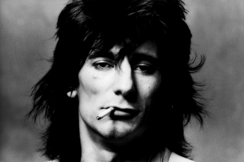 ron wood in his youth