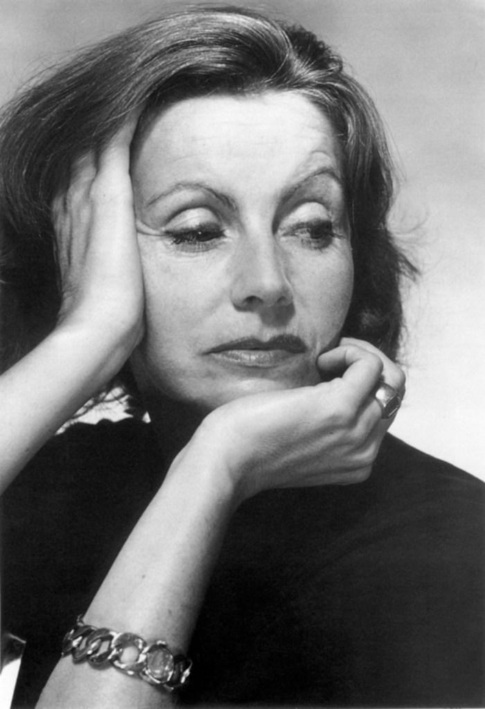 Greta Garbo, photo by Baron George Hoyningen-Huene, 1951
