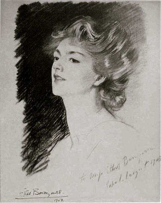 Ethel Barrymore by John Singer Sargent
