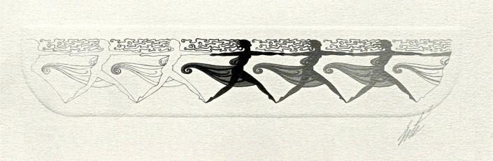 Dancers by Erté