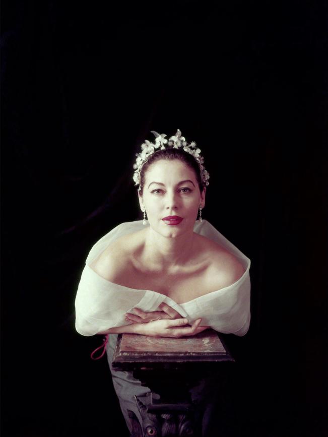 Ava Gardner photographed by Milton H. Greene (1954)