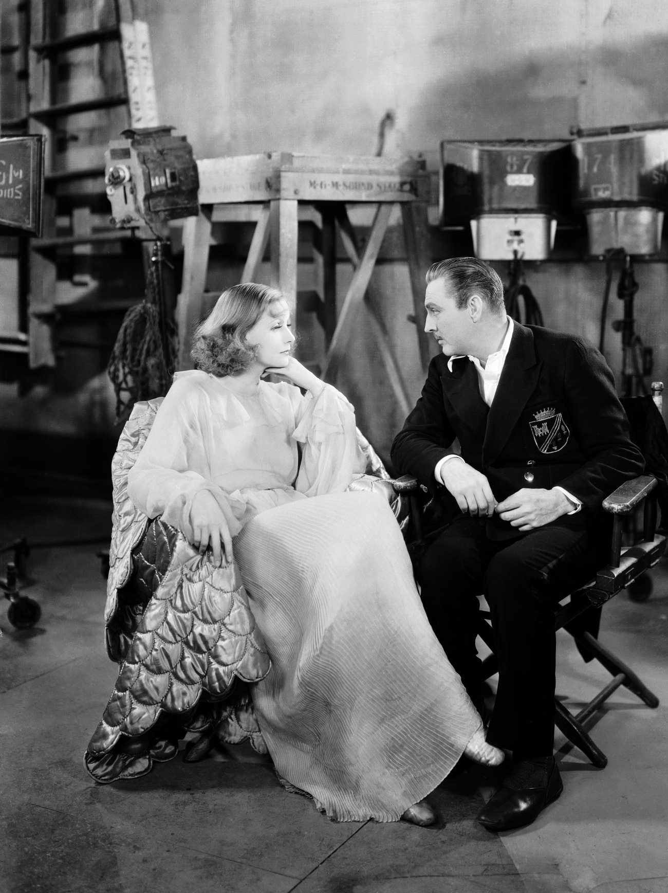 GARBO BEHIND THE SCENES OF GRAND HOTEL BEGUILING HOLLYWOOD