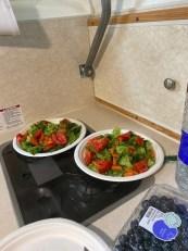 Vegetarian Cuisine in Truck Camper