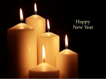 candles new year