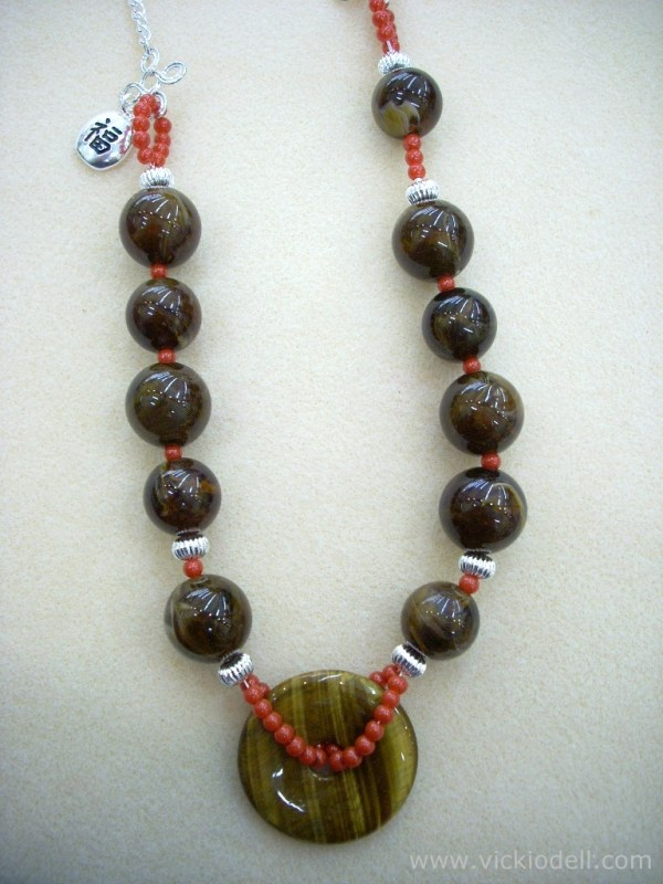 Feeling Chunky – A Large Bead and Donut Necklace