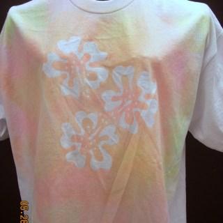 Elmer's Glue and Simply Spray T-shirts