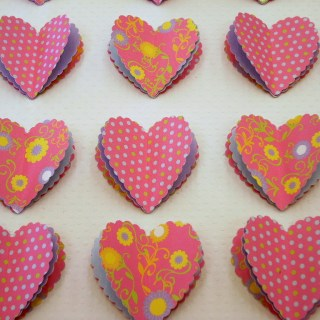 Valentine's Day Craft:  Heart Art