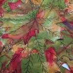 Blog Book Tour: Sew Wild by Alisa Burke – Fall Leaves Table Runner