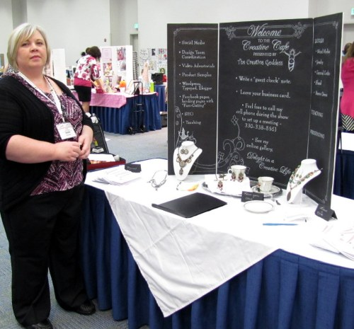The Creative Goddess at the CHA Show -Winter 2012