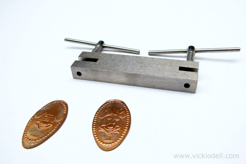 How To Make Earrings With Pressed Pennies