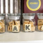 Quick Home Decor: Words on Shelves