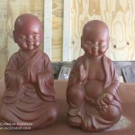 Buddha Babies for the Mantle
