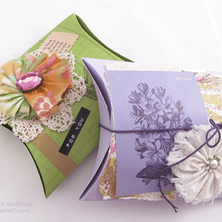 Mixed Media Gift Boxes to Make
