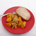 Roasted Pork Tenderloin with Sweet Potatoes and Apples