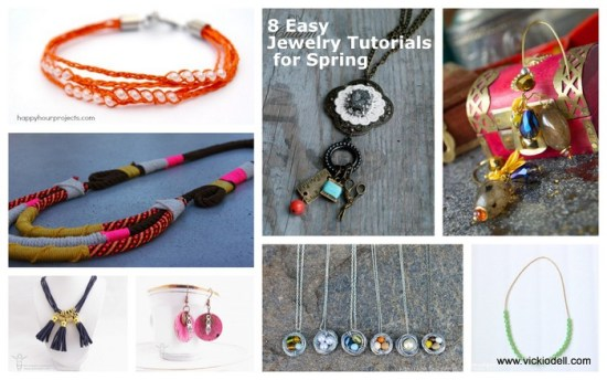 8 Easy DIY Jewelry Tutorials for Spring