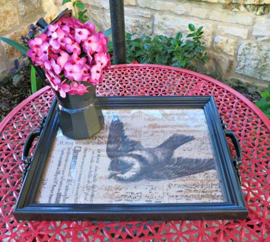 frame tray diy