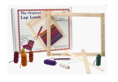 Holiday Gift Guide for the Crafter - Harrisville Designs Lap Loom