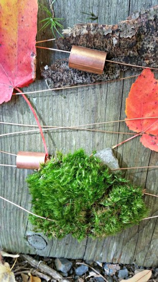 Found Object Art - Nature Weaving