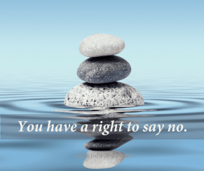 Right to say no