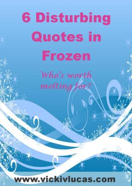 6 Quotes in Frozen that are Disturbing