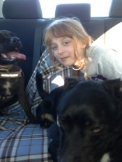 Sally with Coal & Tess