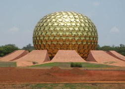 Auroville with the Nikon