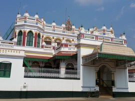 Chettinanad Palace, still working but entry denied