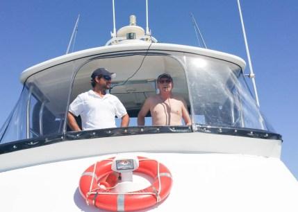 Skipper Murray with Graham