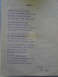 Another poem written in Italy