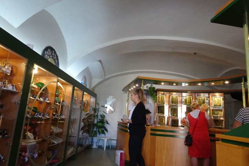 Inside the KaiserHaus, now a jewellery shop!