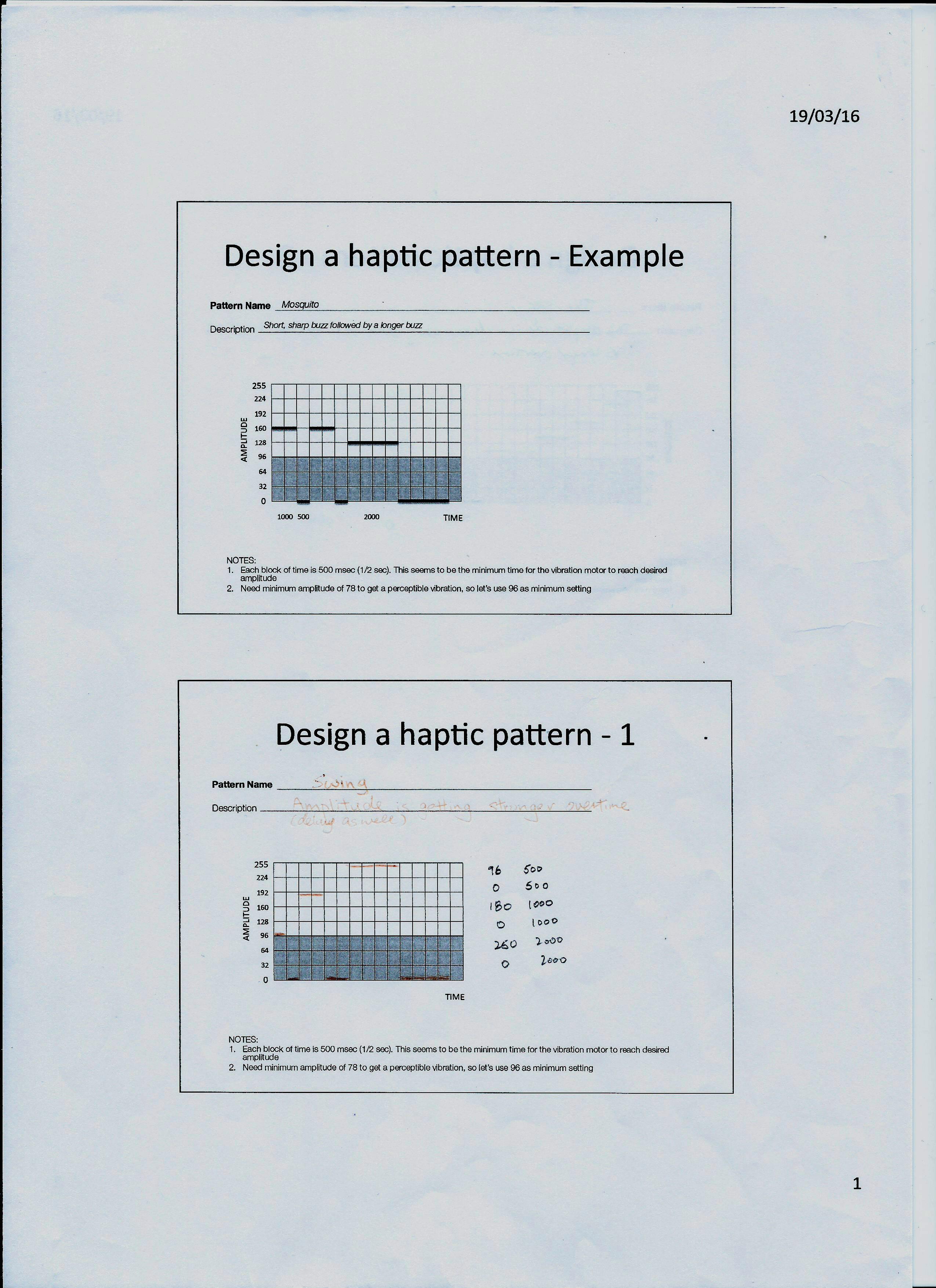 Lab 13 Haptic Output