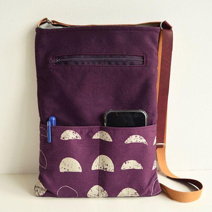 Adjustable Crossbody Bag - Free Sewing Pattern