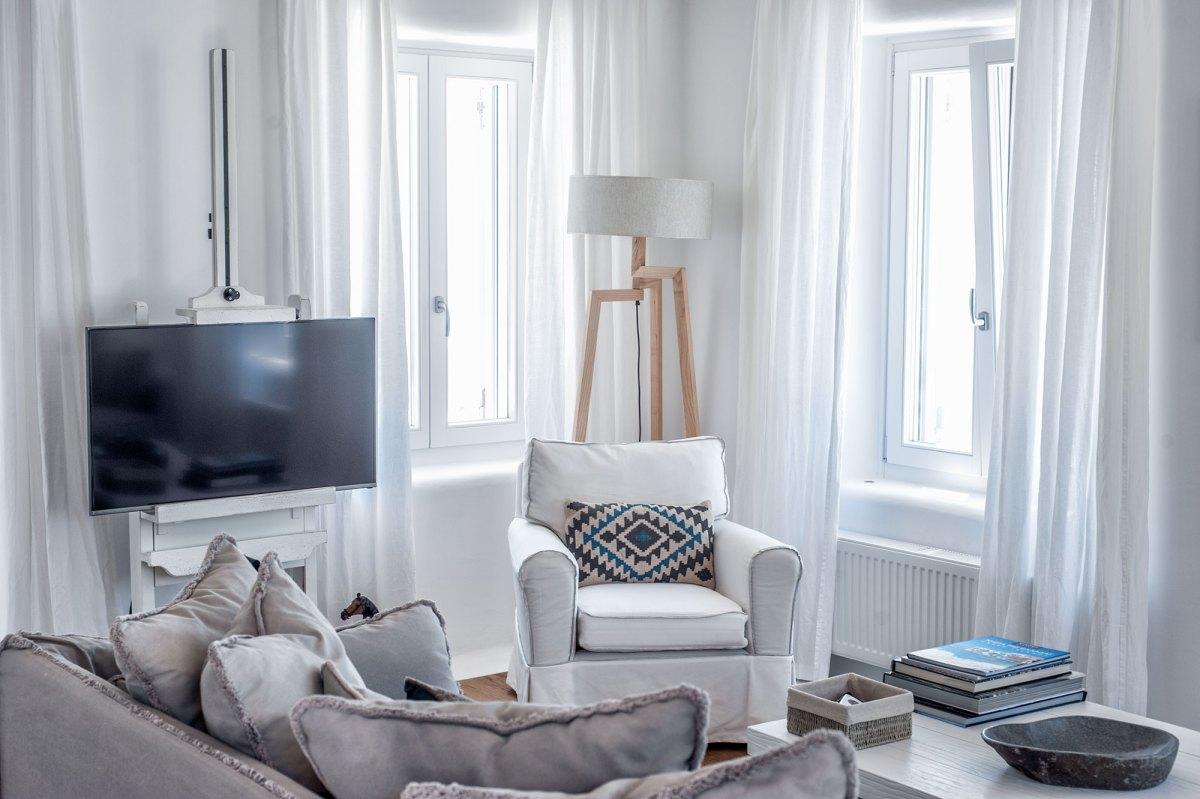Βίκυ Πάσχου Interiors Διακόσμηση Total White Mykonos Vicky Paschou