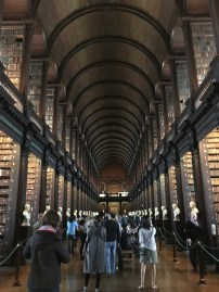 The Long Room of the Old Library of Trinity College