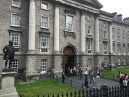 The main Entrance to Trinity College Dublin