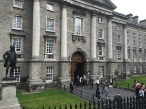 The main Entrance to Trinity College Dublin