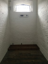 A prison cell in East Wing of Kilmainham Gaol