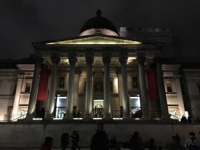 The National Gallery on Trafalgar Square